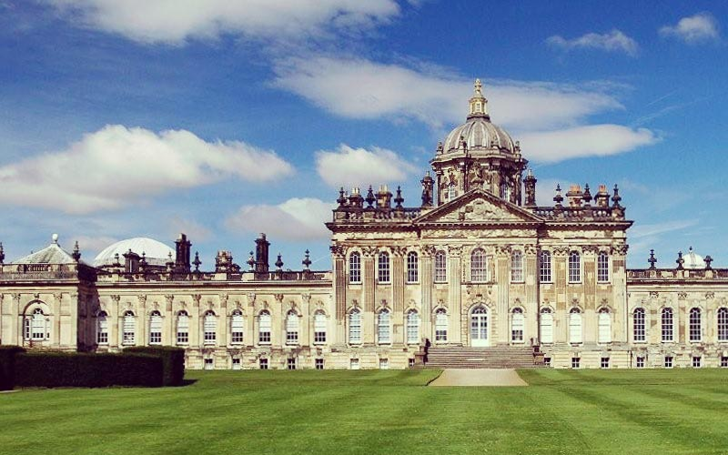 Carter Grice restoration project featuring external facade of Castle Howard, North Yorkshire