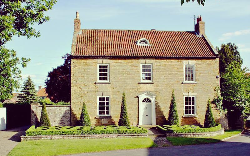 Carter Grice project at Terrington North Yorkshire featuring the external facade of Terrington Lodge
