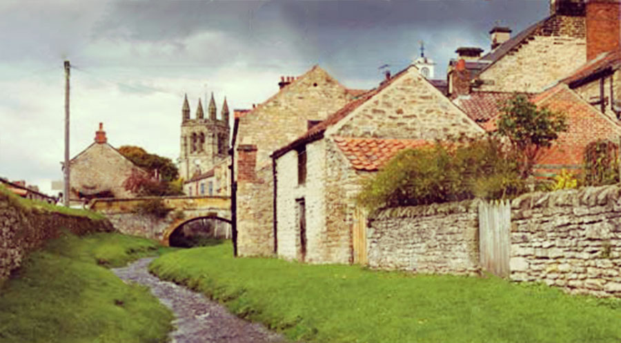 Carter Grice restoration and repair on residential listed buildings featuring Helmsley cottages