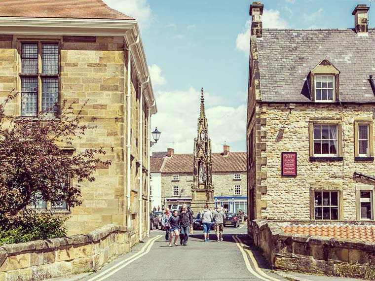 Two new refurbishment projects in Leeds and Helmsley, Helmsley market place