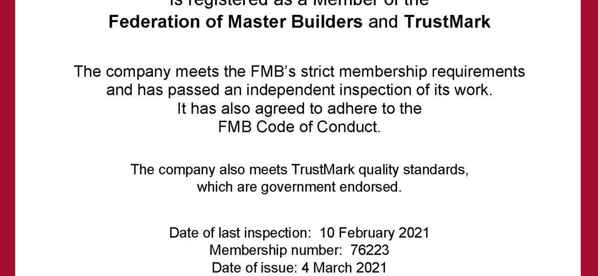 76223 FMB Inspection Certificate